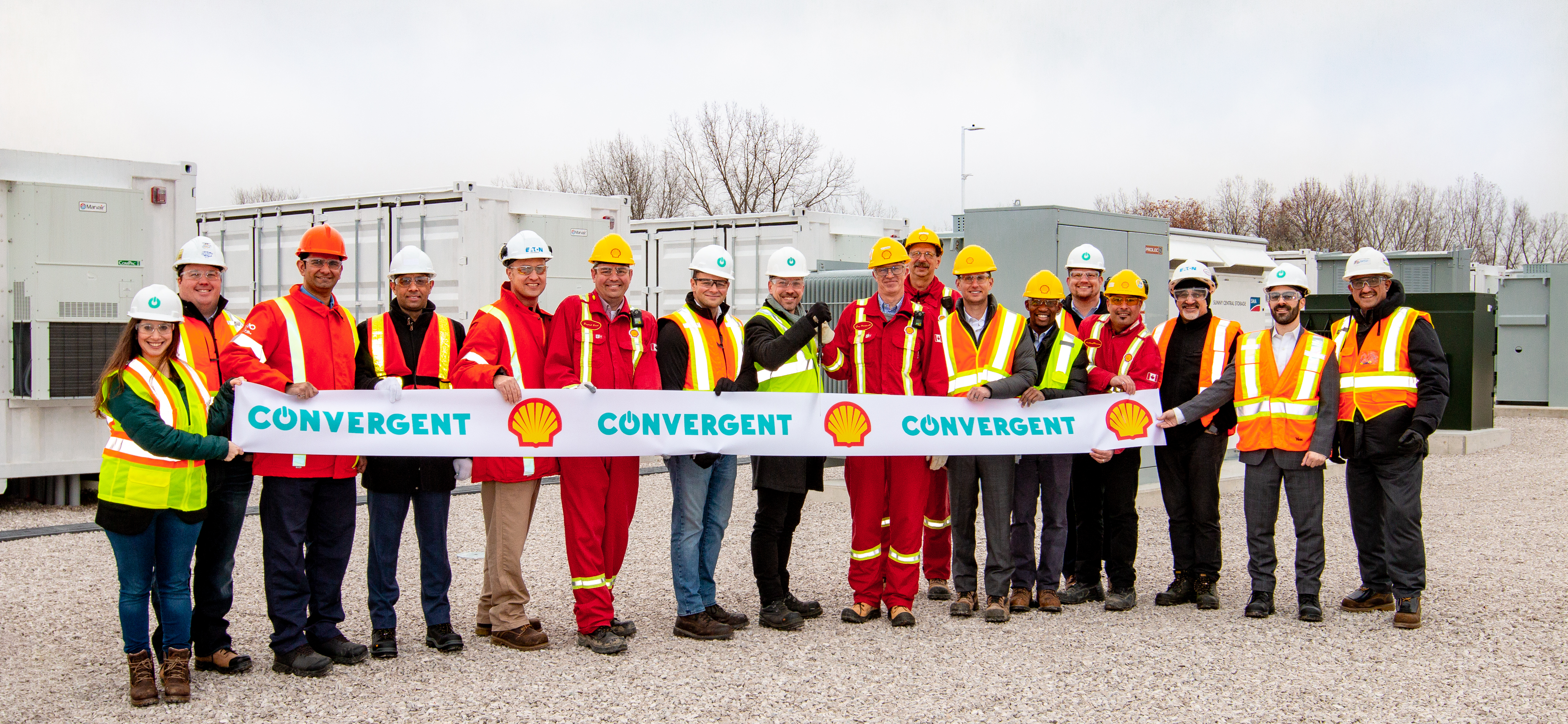 Convergent Announces the Completion of 21 MWh of Energy Storage Projects at Two Shell Facilities